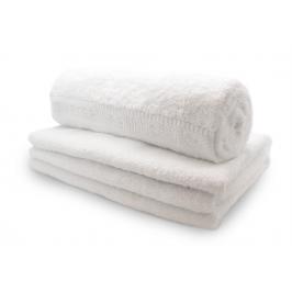 Biologische Katoenen handdoek wit - 70 x 140 cm