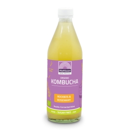 Biologische Kombucha - Rooibos & Rozemarijn - 500 ml