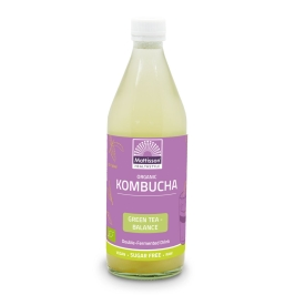 Biologische Kombucha - Green tea Balance - 500 ml