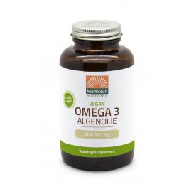 Vegan Omega-3 Algenolie - DHA 260mg - 120 capsules