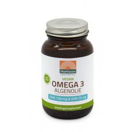 Vegan Omega-3 Algenolie - DHA 150mg & EPA 75mg - 60 capsules