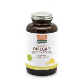 Omega-3 Visolie - 18% EPA 12% DHA - 120 capsules