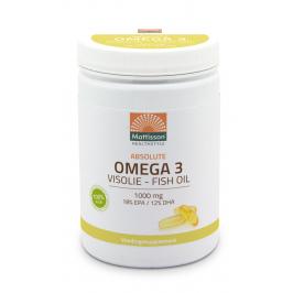 Omega-3 Visolie - 18% EPA 12% DHA - 600 capsules
