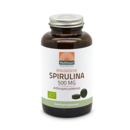 Biologische Spirulina 500mg - 240 tabletten