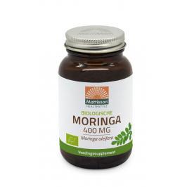 Biologisch Moringa Blad 400mg - 60 capsules