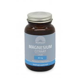 Magnesium Citraat 400mg - 60 capsules