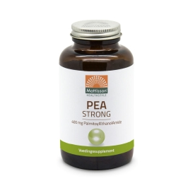 PEA strong (PalmitoylEthanolAmide) 400mg - 90 capsules