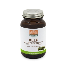 Kelp Algen extract met Jodium 75mg - 200 tabletten