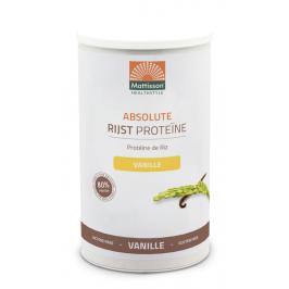 Rijst Proteïne poeder 80% - Vanille -  500 g