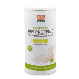 Biologische Wei Proteïne poeder 75% - Banaan - 450 g
