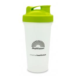 Shakebeker Limegreen 600 ml - BPA-vrij