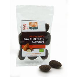 Biologische Choco Amandelen - 65% Rauwe Cacao - 35 g