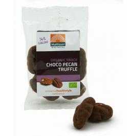 Biologische Chocolade Pecan Truffel - Raw snack - 35 g