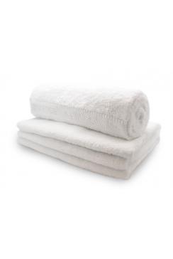 Biologische Katoenen handdoek wit - 50 x 100 cm