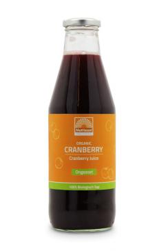 Biologische Cranberry Sap - Ongezoet - 750 ml