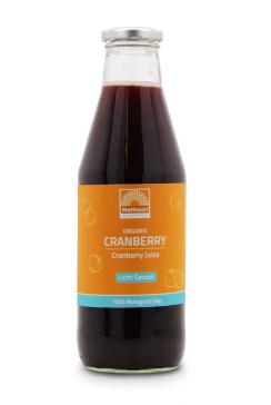 Biologische Cranberry Sap - Licht gezoet - 750 ml