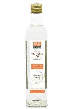 MCT Olie C8 - 99% Caprylzuur - 500 ml