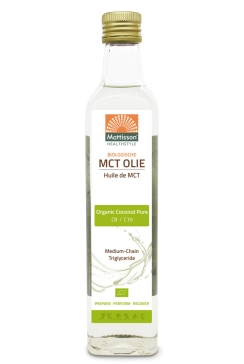 Biologische MCT Olie Blend - C8 & C10 - 500 ml