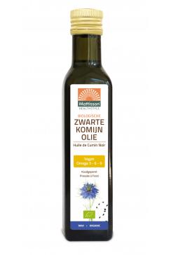 Biologische Zwarte Komijn olie - 250 ml