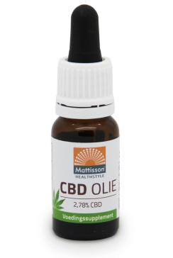 CBD Olie 2,78% - 10 ml