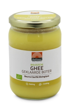 Biologische Ghee - Geklaarde boter - 500 g