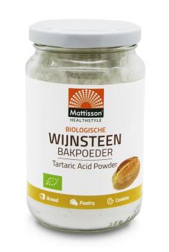 Biologische Wijnsteen Bakpoeder - 180 g