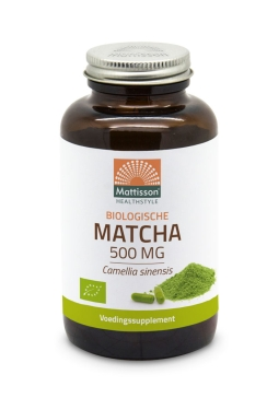 Biologische Matcha 500mg - 90 capsules