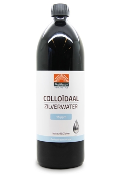 Colloïdaal Zilverwater 15PPM - 1L