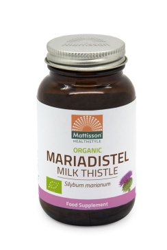 Biologische Mariadistel 200mg - 120 capsules
