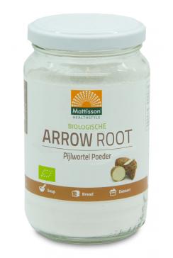 Biologische Pijlstaartwortel poeder - Arrowroot - 190 g