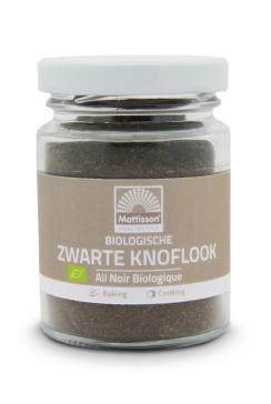 Biologische Zwarte Knoflook poeder - 70 g