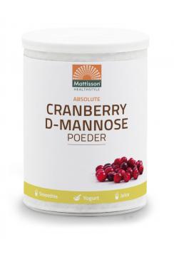 Cranberry D-Mannose poeder - 100 g