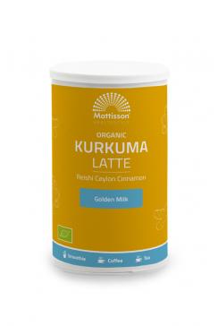 Biologische Kurkuma Latte - Ongezoet - 160 g