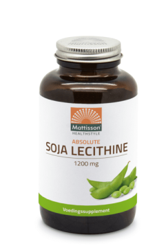 Soja Lecithine 1200mg - 90 capsules