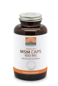 MSM 800mg - 180 capsules