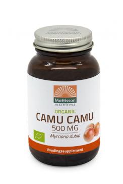 Biologische Camu Camu 500mg - 60 capsules
