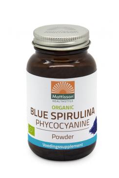 Biologische Blue Spirulina Phycocyanine poeder - 15 g