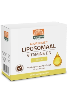 Aquasome® Liposomaal Vitamine D3 3000 IU - 30 pouches