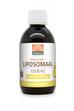 Aquasome ® Liposomaal D3 2000 IU & K2 100 mcg - 250 ml