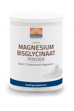 Magnesium Bisglycinaat poeder - 11% elementair Magnesium - 200 g