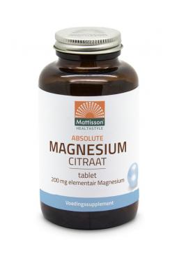 Magnesium Citraat 1278mg - 60 tabletten