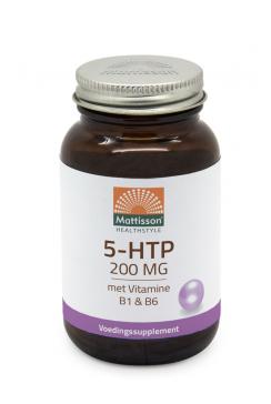 5 HTP met Vitamine B1 & B6 - 200mg - 60 capsules