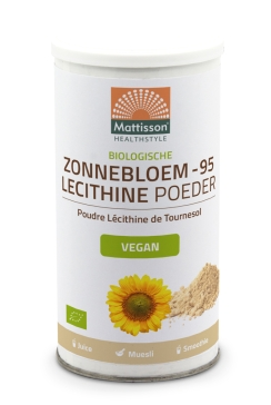Biologische Zonnebloem Lecithine-95 poeder - 180 g