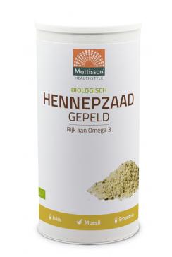 Biologisch Hennepzaad Gepeld - 800g