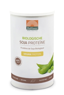 Biologische Soja Proteïne poeder 90% - 350 g