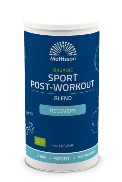 Biologische Post-workout Recovery Blend - 250 g