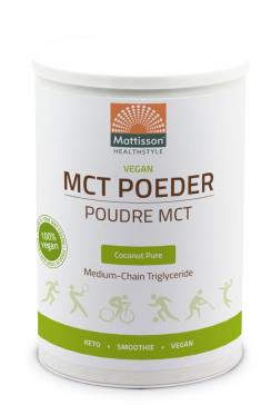Vegan MCT poeder - Puur kokosnoot - 330 g