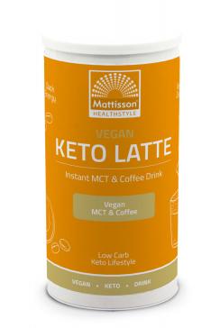 Vegan Keto Latte - Instant MCT & Coffee drink - 200 g