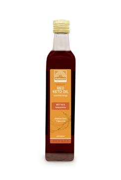 Rode Keto Olie - MCT Olie & Astaxanthine