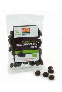 Biologische Chocolade Rozijnen - Raw snack - 35 g